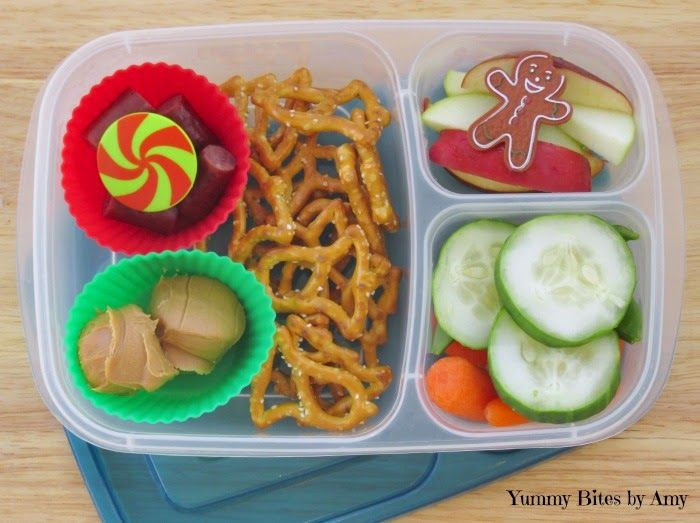 Quick and easy school lunchbox ideas! - packed in an #easylunchboxes container