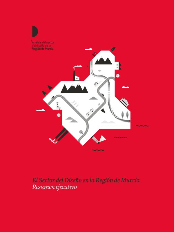 Design in Murcia by Romualdo Faura, via Behance