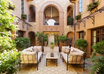 Outdoor Living - mediterranean - Patio - Los Angeles - Kelly Ferm Inc.