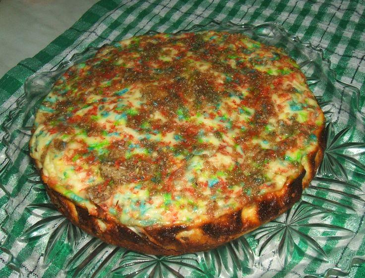 Kakaós, tehéntúrós torta