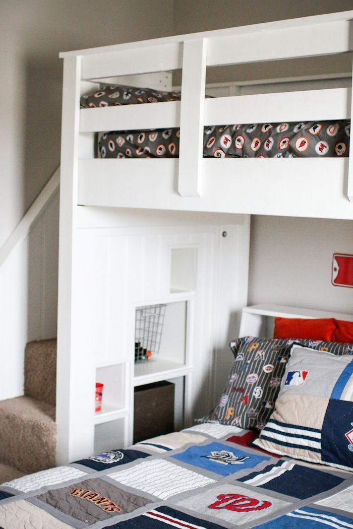 awesome diy pottery barn bunk beds