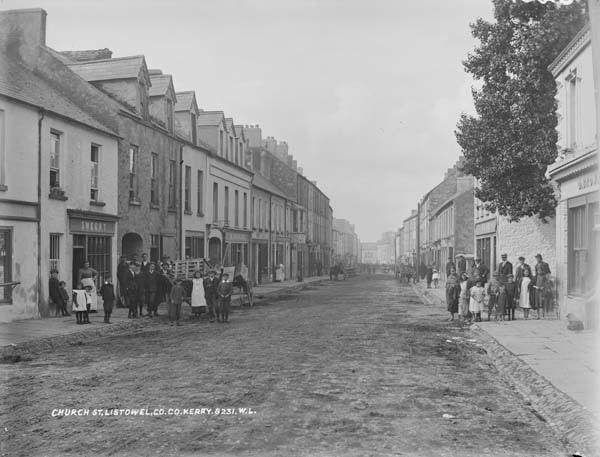 Church St., Listowel, Co.Kerry by National Library of Ireland on The Commons, via Flickr