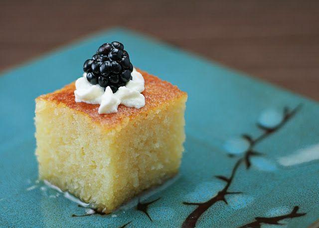 Turkish Semolina Cake in Syrup (Revani) – Honey & Butter