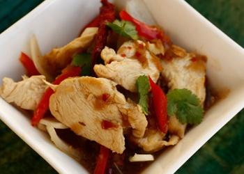 Lemongrass Chicken Stir-fry (serves 6)