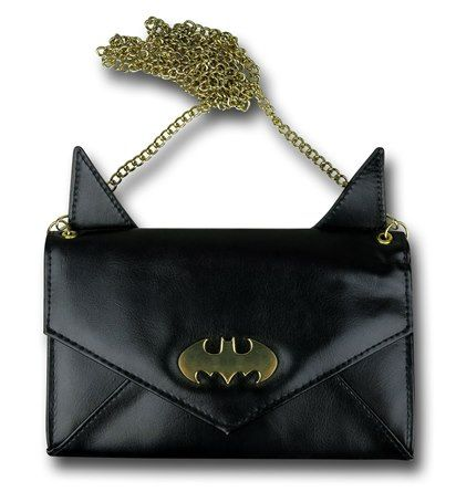 Images of Batman Eared Envelope Wallet with Chain