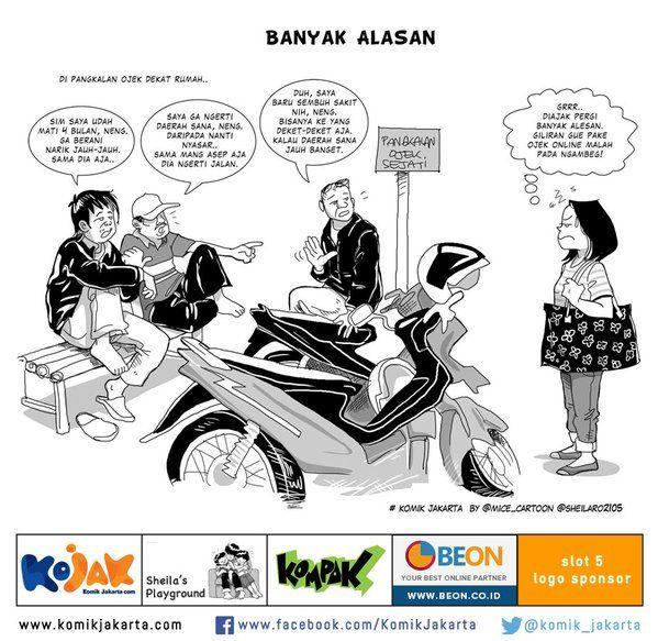 Banyak Alasan by @sheilaro2105 #KomikJakarta https://t.co/ovNQdX2vNy