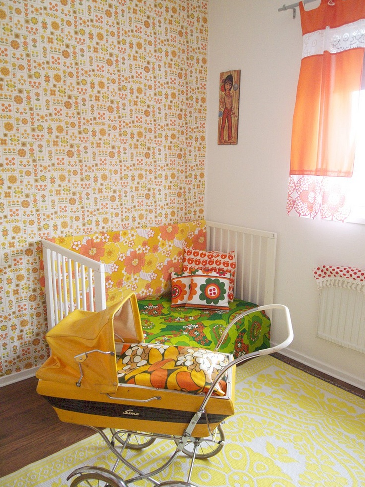 vintage baby bedroom if we decide to go for one of the small bedrooms