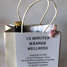 DIY 15 Minuten Männer Wellness – die perfekte Geschenkidee für Männer – Geburtstag Geschenk