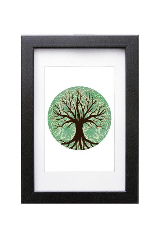 Art print – Livets träd | Foxboheme