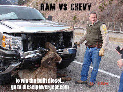 Chevy vs a ram  Cars  Pinterest  Chevy Trucks and Diesel trucks