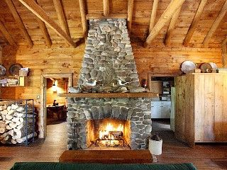 Spring River Lake Cabin Rental: Secluded Log Cabin With Private Beach.views Of Mountains, Lake And Sunset!   HomeAway