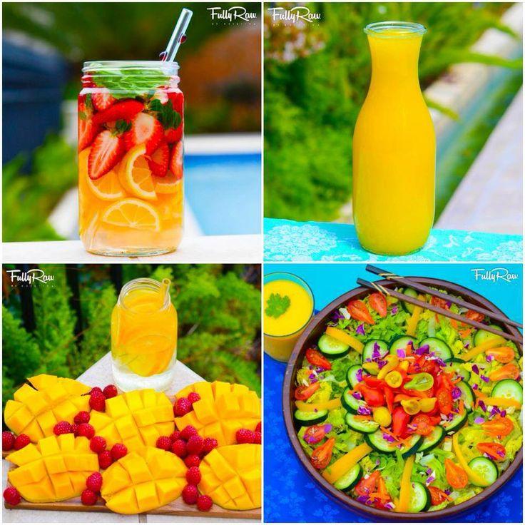 Dynamic Orange Tomato Dressing Video Raw Vegan Recipe