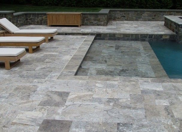 17 Best Images About Pool On Pinterest Travertine