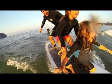 ▶ 60 Segundos - Family Surf - Ari'i Nui Stand Up Paddle - YouTube