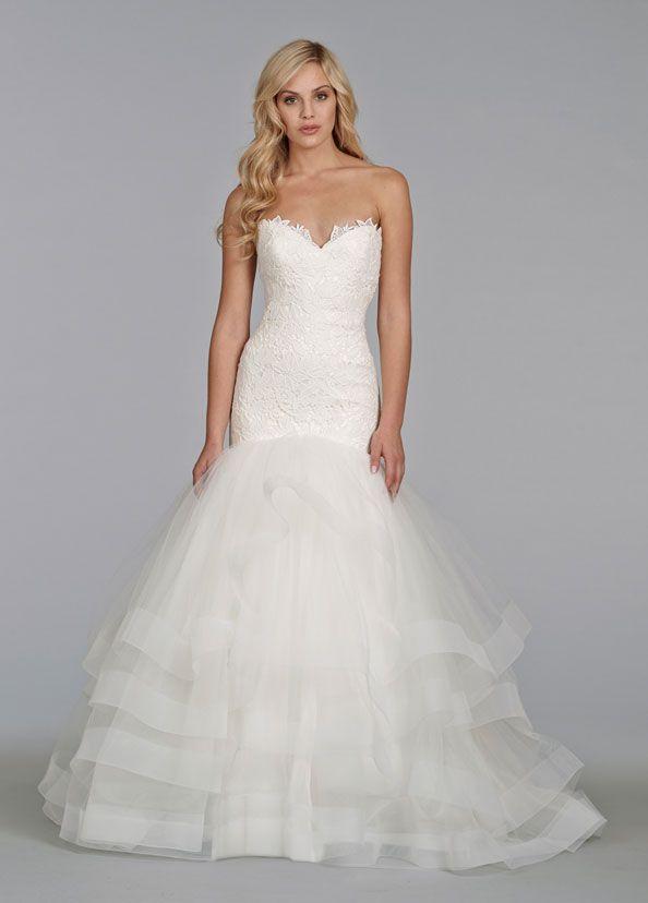Bridal Gowns, Wedding Dresses by Tara Keely - Style tk2400