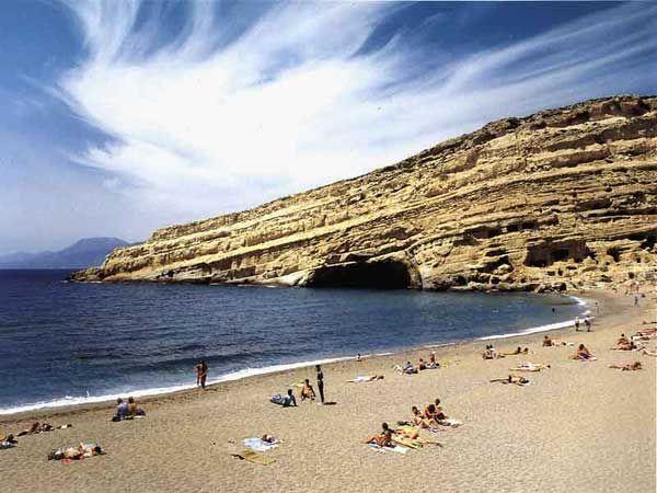 VISIT GREECE| Matal beach, Crete