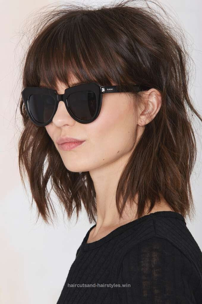 Marvelous Short Shaggy Bob Hairstyles with Bangs  The post  Short Shaggy Bob Hairstyles with Bangs…  appeared first on  Haircuts and Hairstyles .