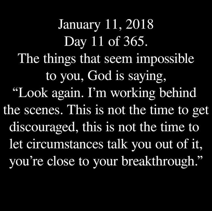 My breakthrough is already here!!