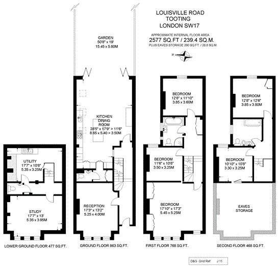 Floorplan Victorian Terrace Pinterest Toilet