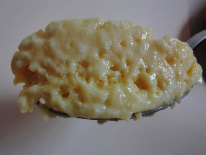 Mousse de brigadeiro branco aerado