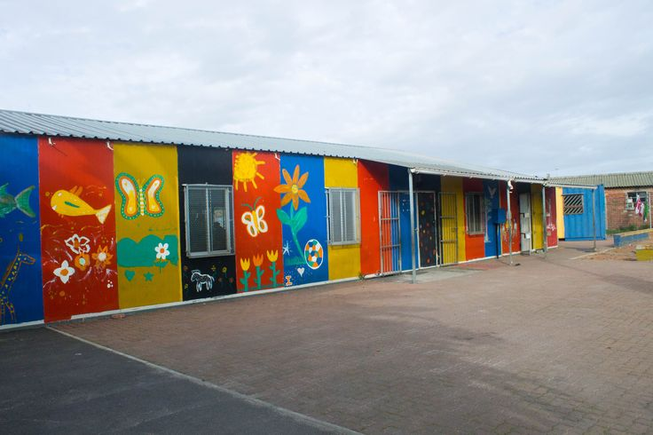 A community school very colorful.