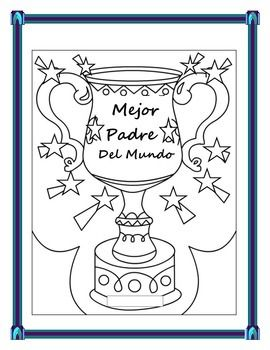 father's day card spanish