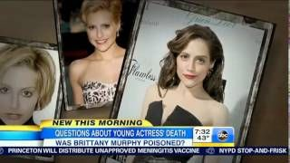 Brittany Murphy's Mom Disputes Poison Claims - TV Balla