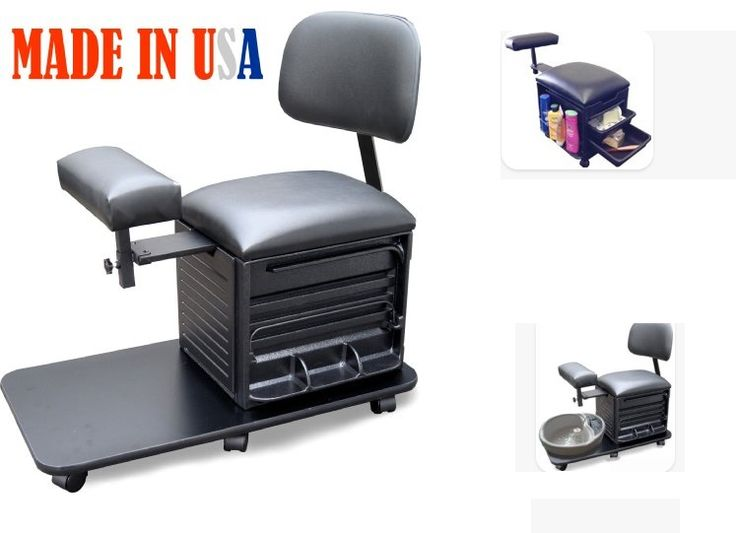 Dina Meri 2318 Pedicure Station Pedicure Stool with Back Support by Dina Meri           Price: $199.97