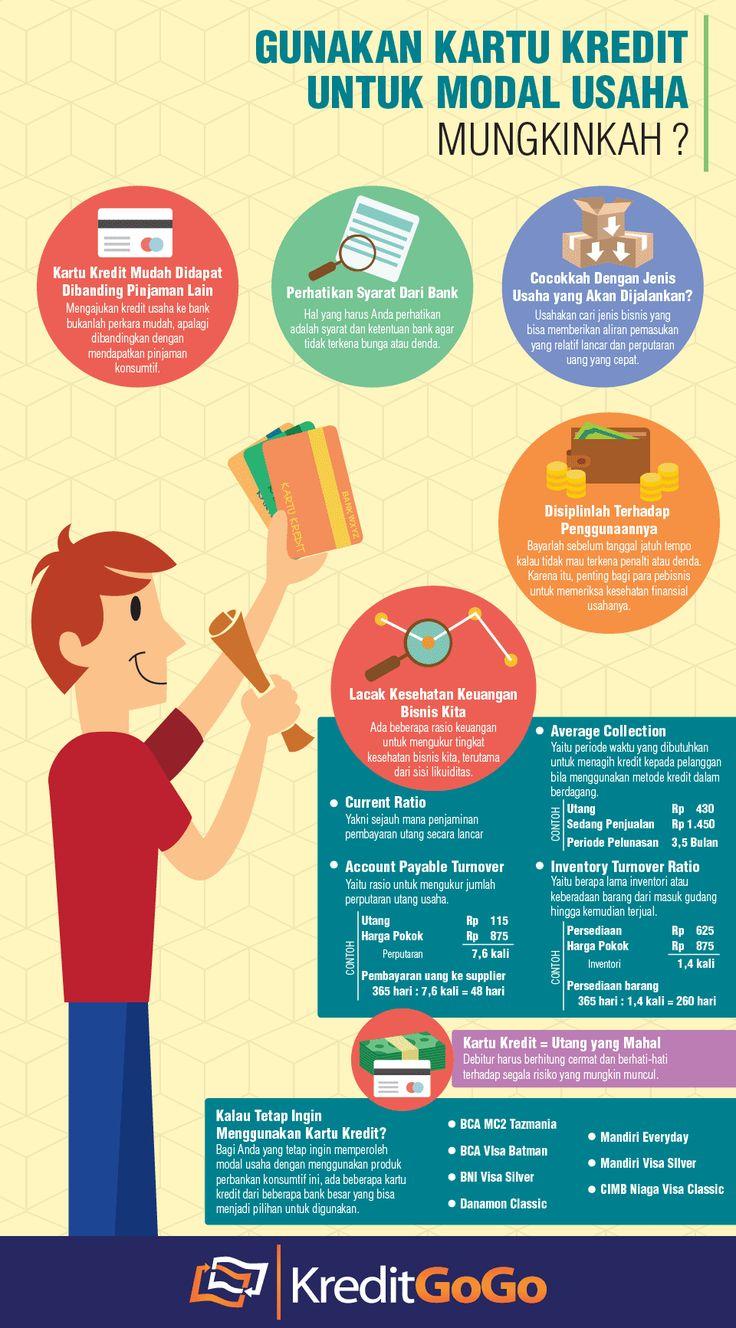 Gunakan Kartu Kredit Untuk Modal Usaha, Mungkinkah? https://kreditgogo.com/artikel/Kartu-Kredit/Gunakan-Kartu-Kredit-Untuk-Modal-Usaha-Mungkinkah.html #InfoGrafik #KartuKredit #CreditCard #personalloan #asuransimobil #Graphic #InfoGraphic