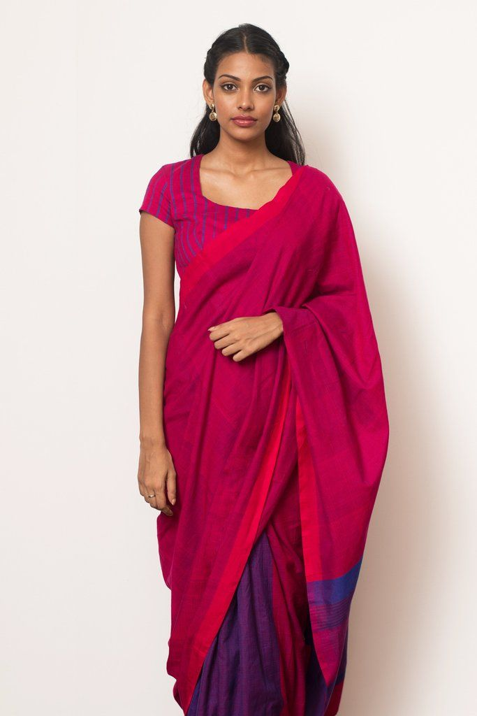 Pink Berry Saree from FashionMarket.lk