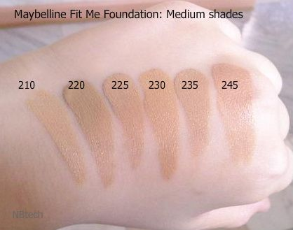 Favoriete Drugstore Foundation Maybelline Fit Me