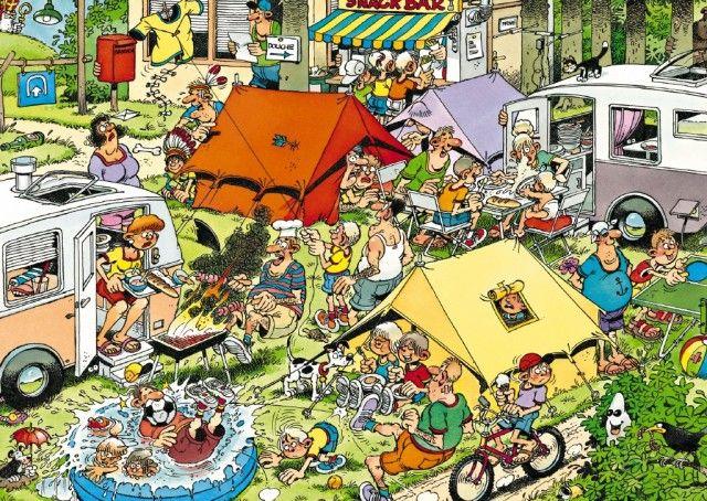 Jan van Haasteren: Camping (150 stukjes)