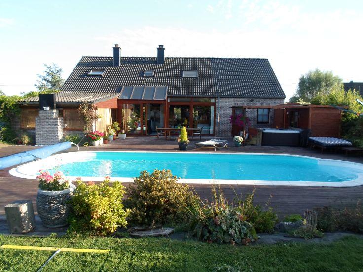 Sprimont 600 000 euros maison avec piscine vendre 4 chambre s c 39 est la maison de laurie qui - Maison a 80 000 euros ...