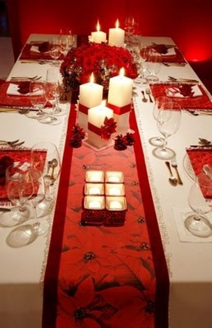 Holiday, Home Valentines Day Table Settings Decorations : Light Ideas Romantic Valentines Day Table Settings Picture
