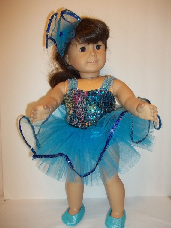 American Girl Dance Costume by SewWeeBoutique on Etsy, $15.50