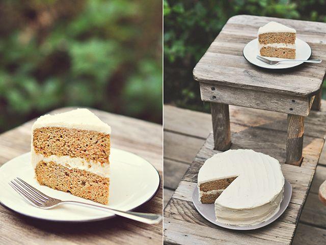 Paleo Bea's Carrot Coconut Cake
