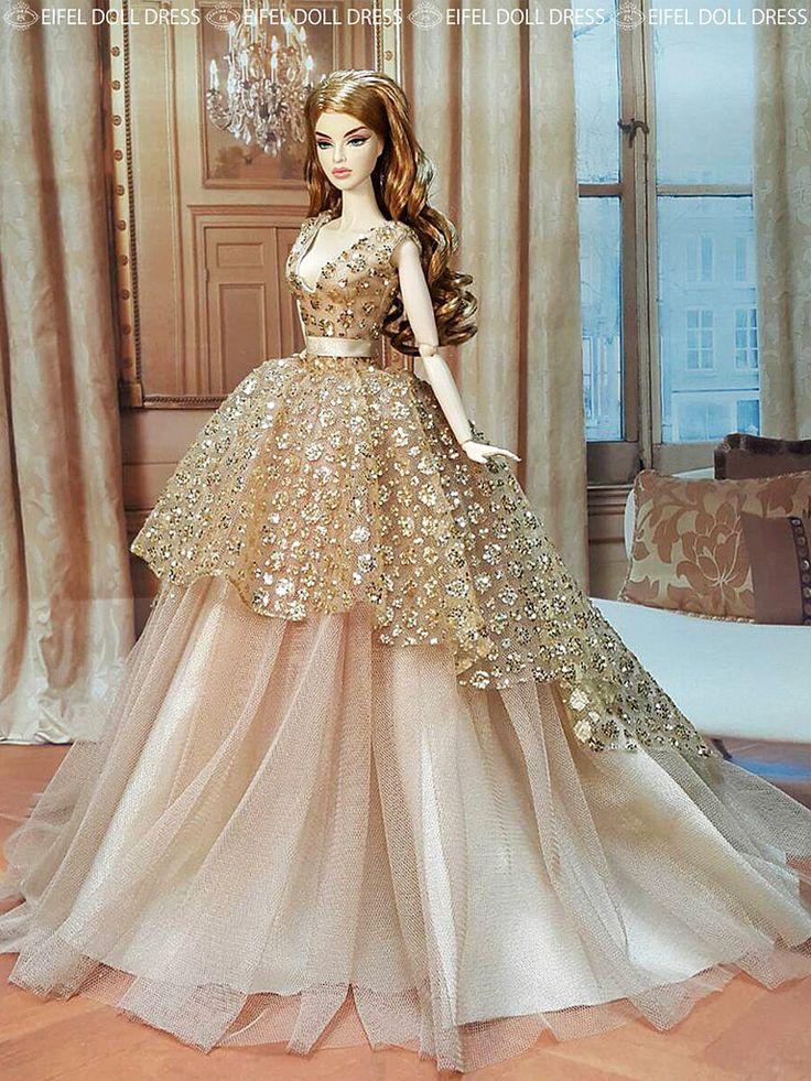 """New Dress for Sale EFDD"" by eifel 85 (eifel85, eifel doll dress) |  Check out the new dress on my eBay shop  www.ebay.com/usr/eifeldolldress | 17 August 2015"