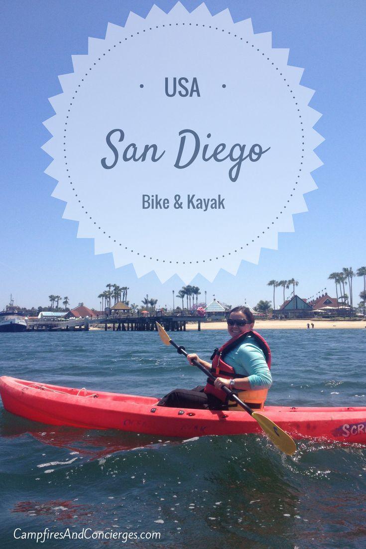 San Diego 1 Day Bike & Kayak Tour Coronado Island
