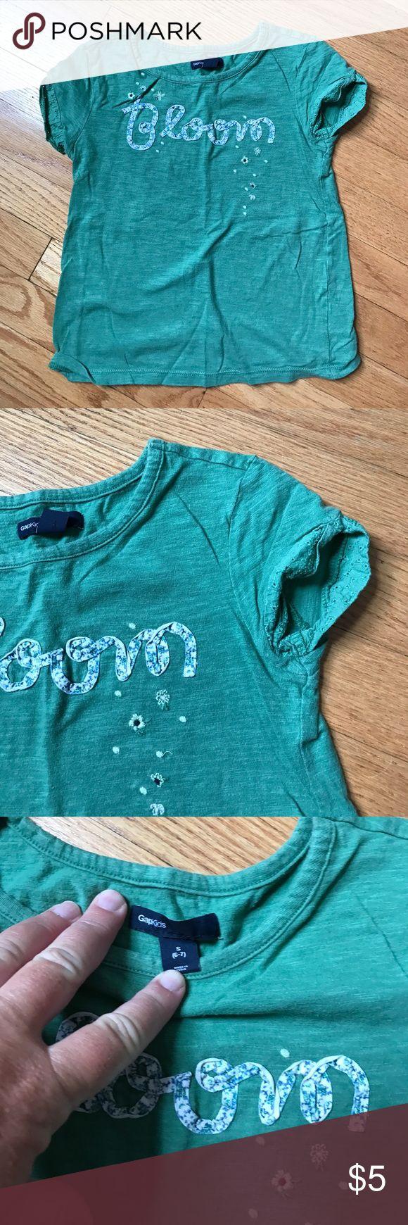 Girls Gap tshirt Bloom! GAP Shirts & Tops Tees - Short Sleeve