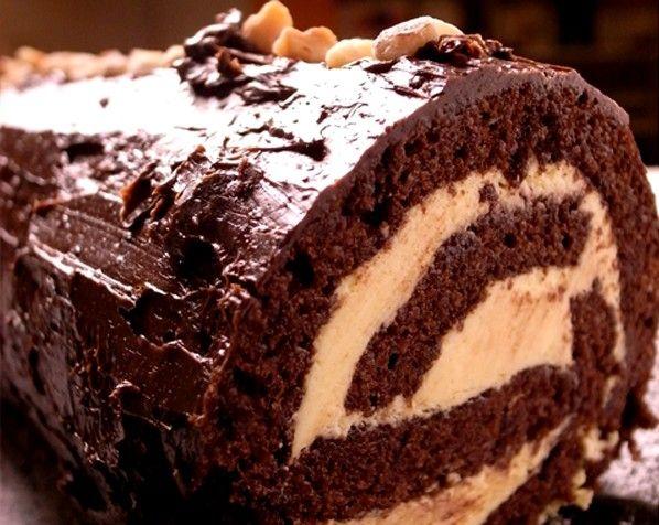 chocolate yule log best chocolate desserts chocolate log how to make ...