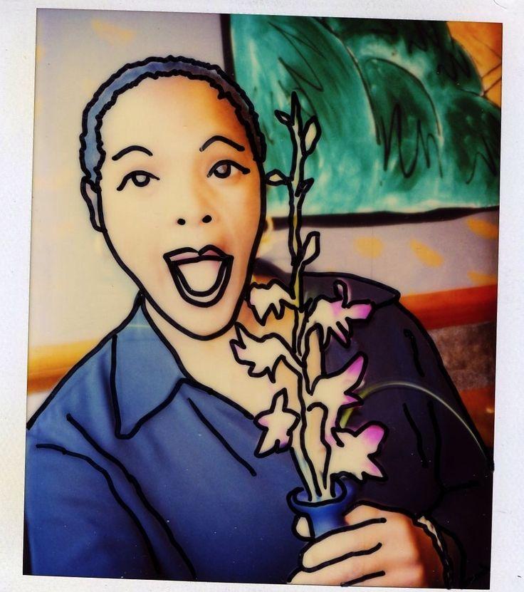 Cartoon Society, Polaroid Art.