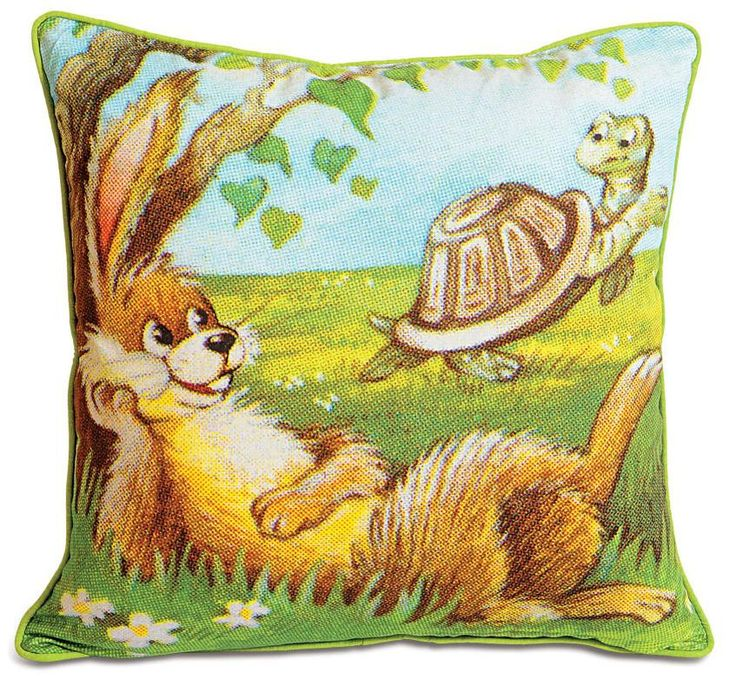 RABBIT KIDS CUSHION COVER - FlickDeal