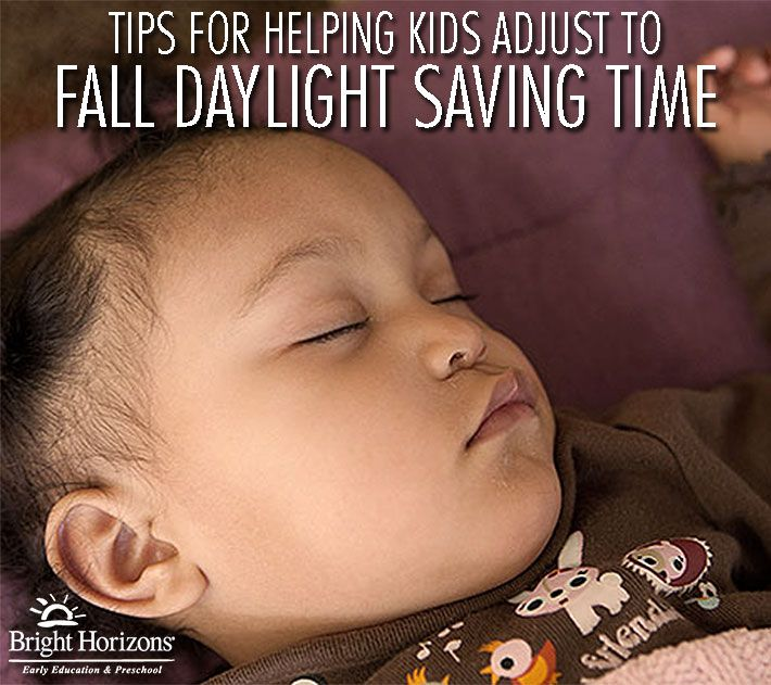Tips for Helping Kids Adjust to Fall Daylight Saving Time