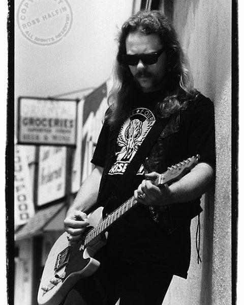 James Hetfield of Metallica by Ross Halfin.