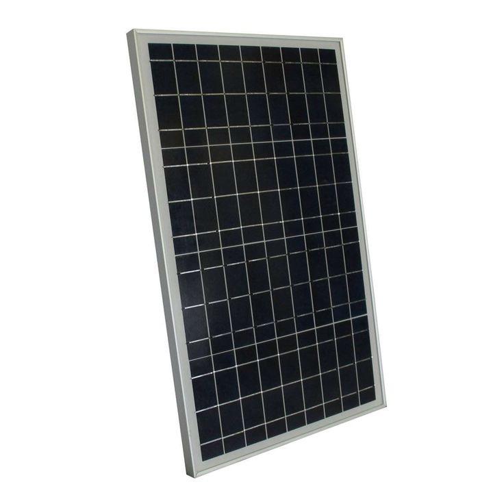 30 Watt Solar Panel 12 Volt Battery Charger For Boat Rv