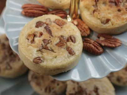 "Butter Pecan Crumpets (Jane Eyre's 1800's) - Damaris Phillips, ""Southern At Heart"" on the Food Network."