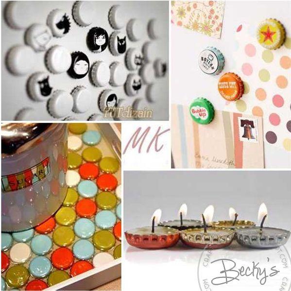 Beck's Crafts&Stuffs: Corcholatas Decoradas Para Niños