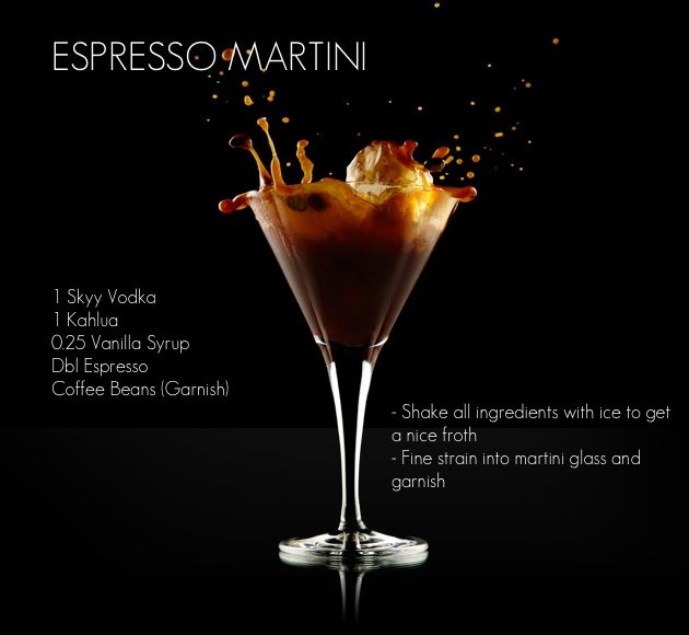 67 Best Images About Espresso Martini Recipes On Pinterest