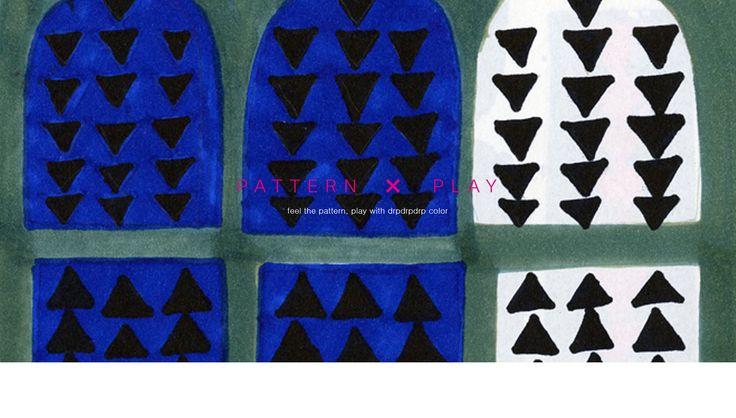 graphic lifestyle brand : drpdrpdrp = dropdropdrop : fabric design : pattern play