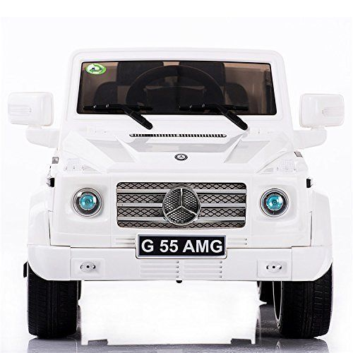NEW HOT 2016 MODEL 4CH Remote Controlled Electric Licensed Mercedes Benz Ride-On Car G55 / with license design MP3 INPUT WORKING DOORS